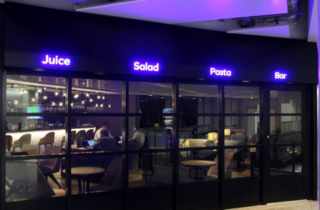 Plaza Premium Arrivals Lounge, London Heathrow, Terminal 4