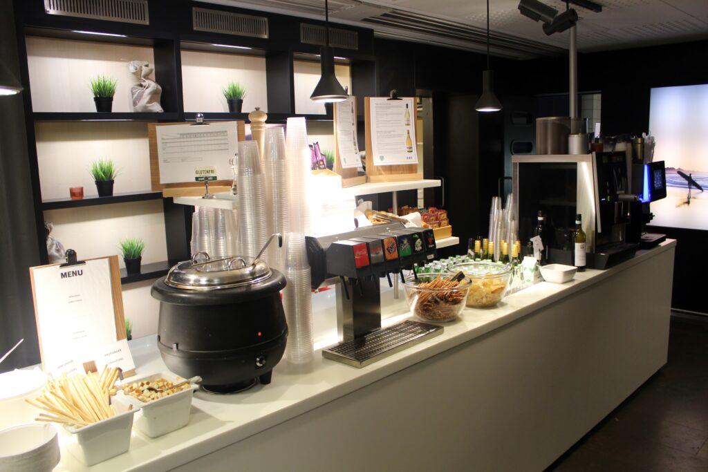 SAS Domestic Lounge, Stockholm Arlanda, Terminal 4