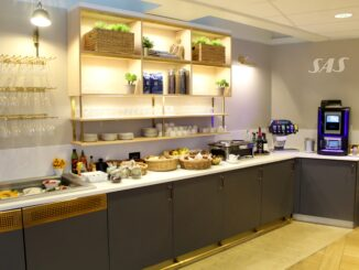 SAS Lounge, Paris CDG