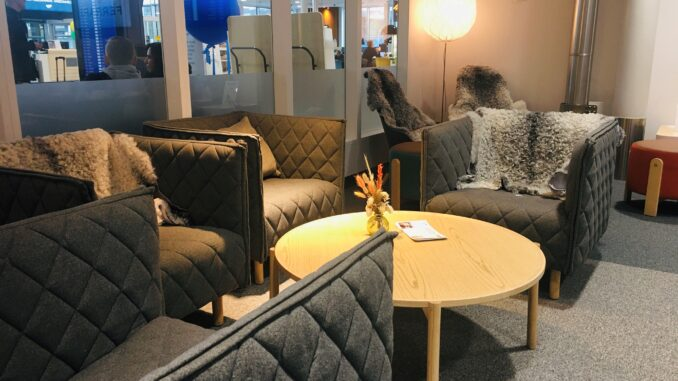 The new BRA Lounge at Stockholm Bromma airport