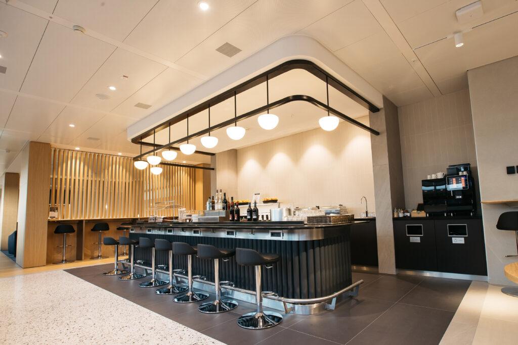 The new British Airways lounge in Geneva