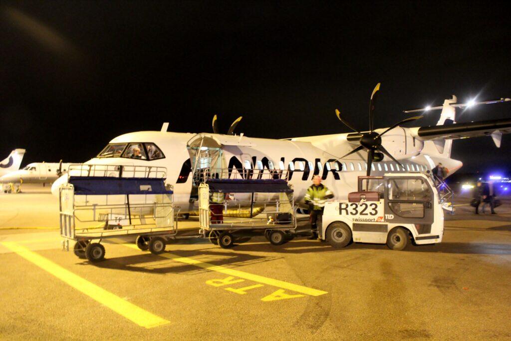 Finnair ATR-72 in Helsinki