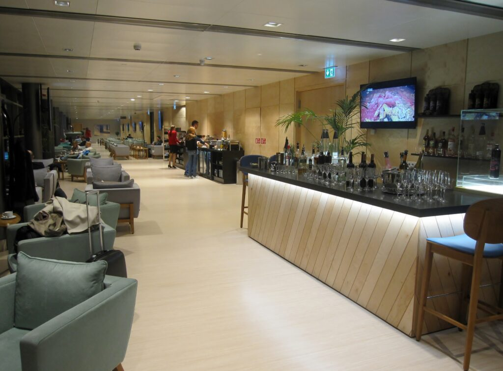The new Primeclass Lounge at Riga Airport