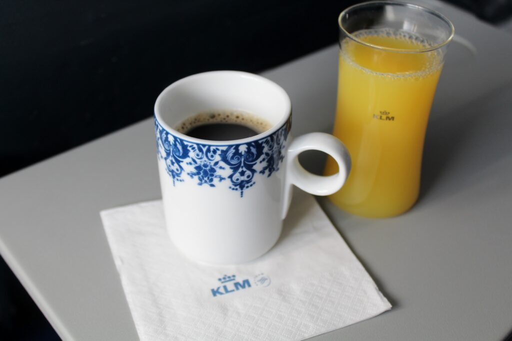 Upgrade to KLM Business Class Amsterdam-Stockholm