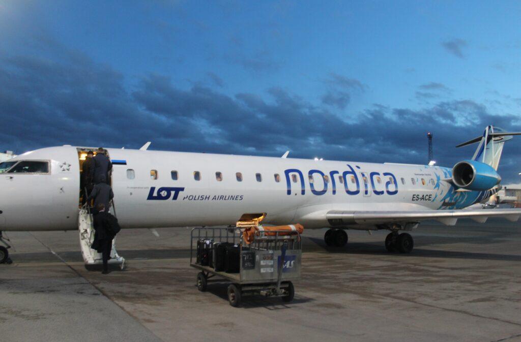 Upgraded to Nordica Premium Economy