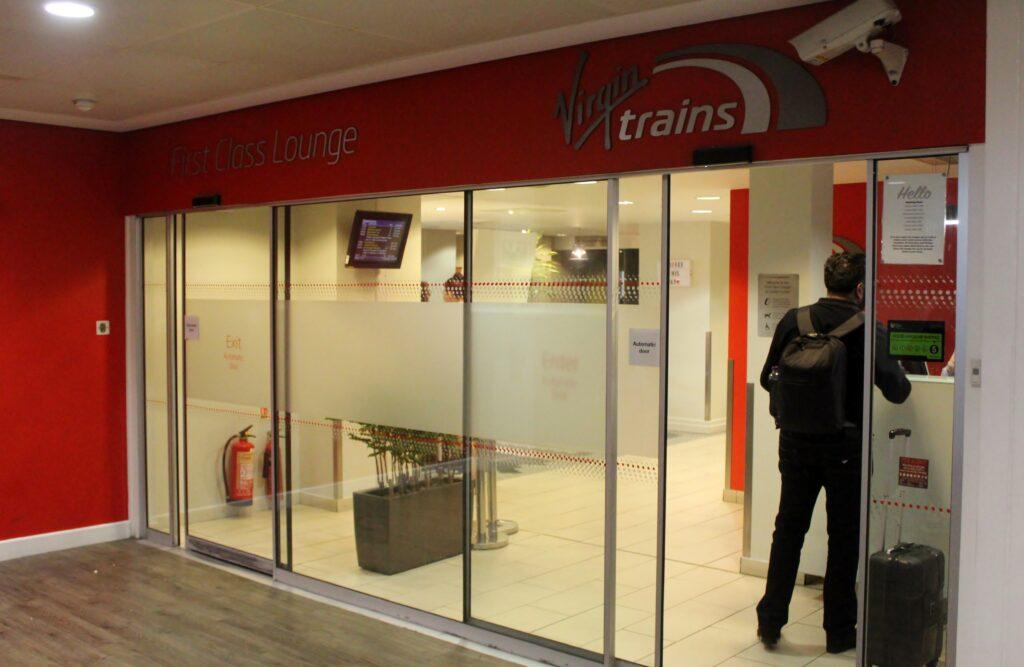 Virgin Trains First Class London Euston-Liverpool