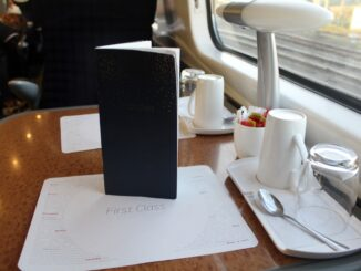 Virgin Trains First Class London Euston-Liverpool