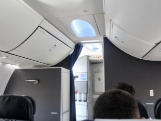 British Airways Comair Club Business Class Johannesburg-Cape Town
