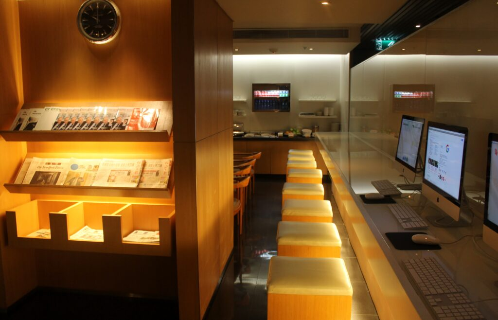 Cathay Pacific The Arrivals Lounge, Hong Kong
