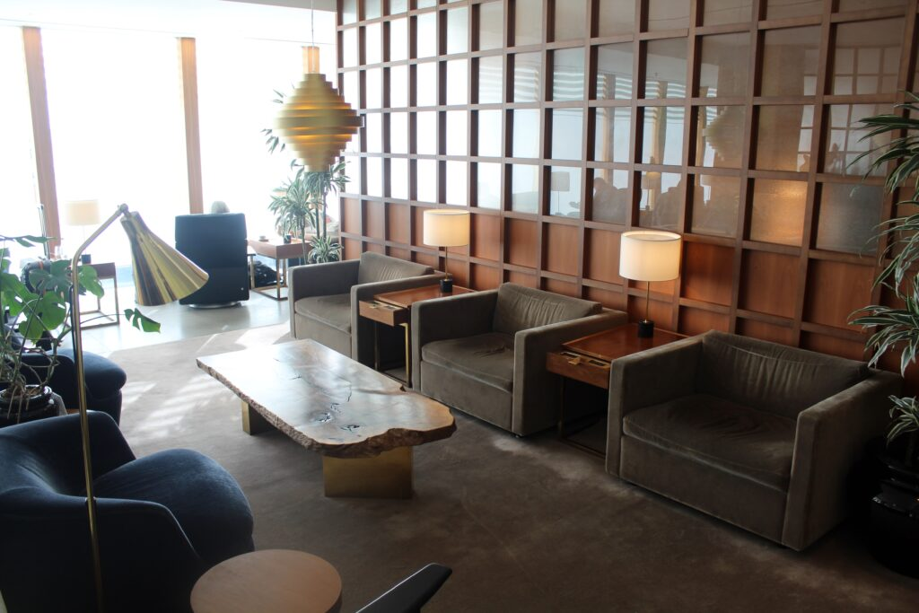 Cathay Pacific First Class Lounge London Heathrow