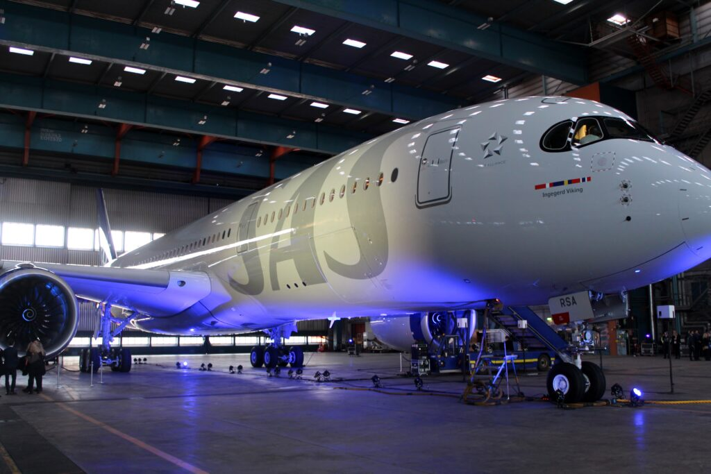 Inauguration of the SAS Airbus A350