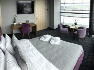 Private suite in the Primeclass Lounge at Riga airport