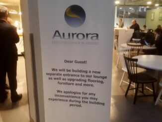Refurbishment of the Menzies Aurora Lounge at Stockholm Arlanda airport