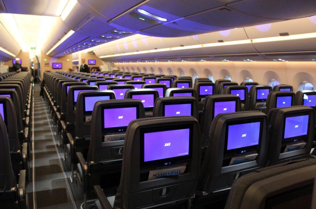 SAS Go Economy Class on the Airbus A350