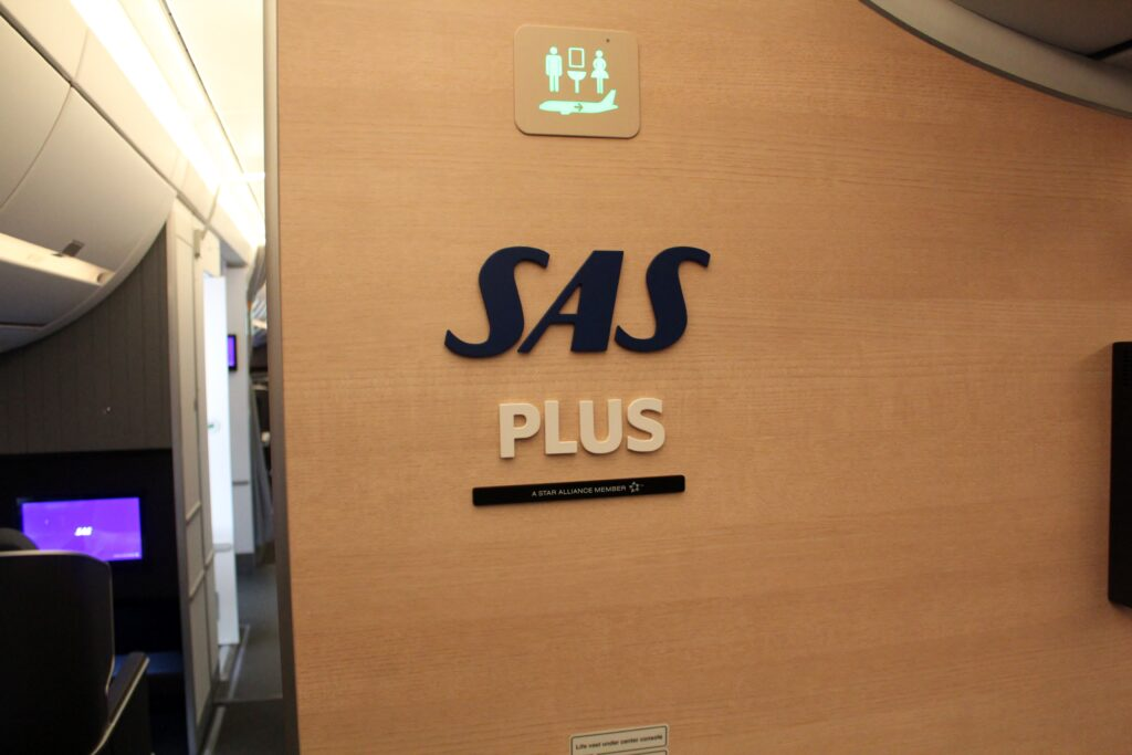 SAS Plus Premium Economy on the Airbus A350