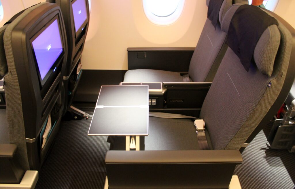 SAS Plus Premium Economy seats on the Airbus A350