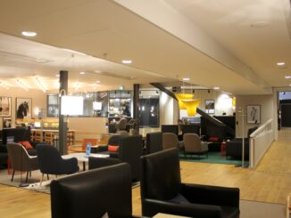 The SAS Gold Lounge at Stockholm Arlanda terminal 5