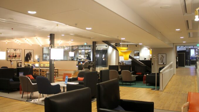 The SAS Gold Lounge at Stockholm Arlanda terminal 5