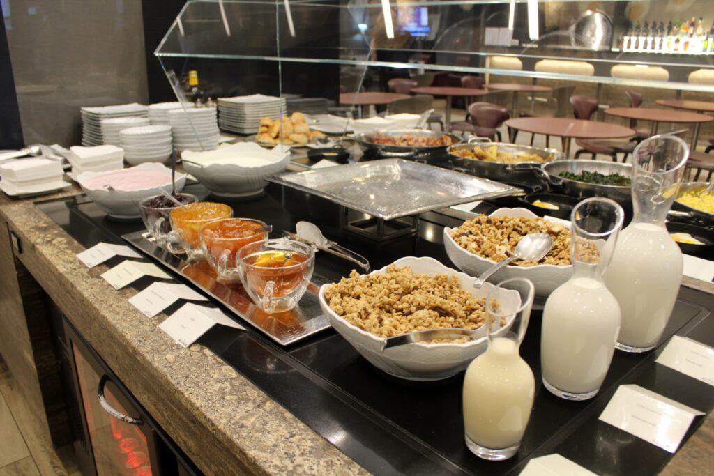 Breakfast in the Casa Alitalia Piazza Di Spagna Lounge in Rome