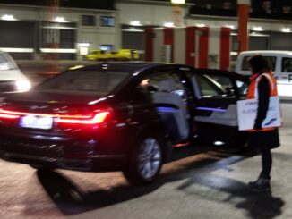 Chauffeur service for Finnair Plus Platinum Lumo at Helsinki airport