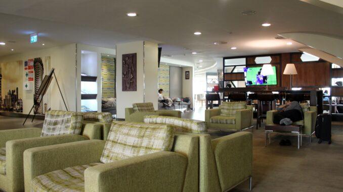 Kenya Airways Pride Lounge Nairobi