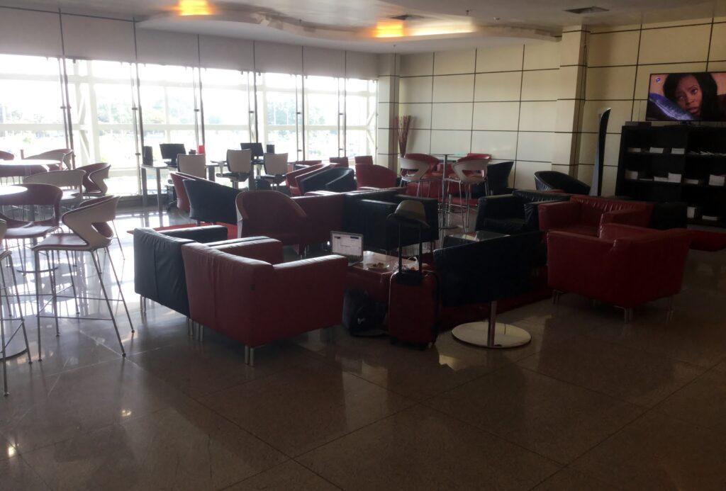 LAM Flamingo Lounge, Maputo, International Terminal