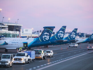 Alaska Airlines aircrafts