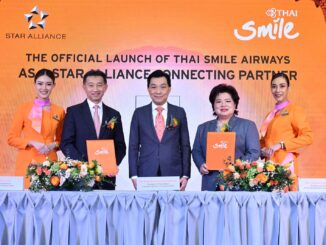 THAI Smile Airways joins Star Alliance as a connecting partner