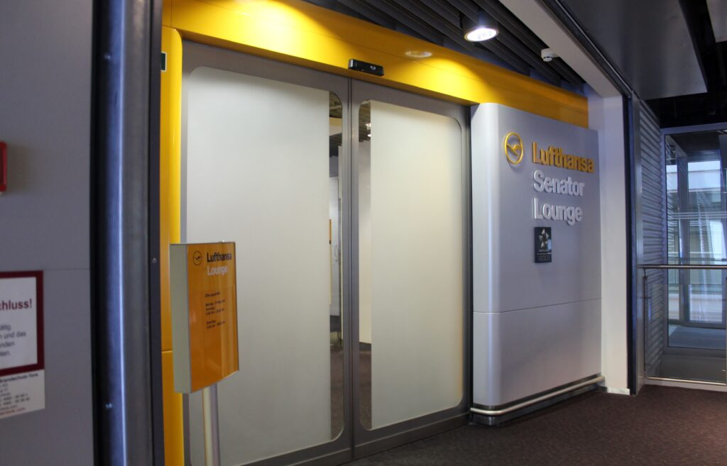 Lufthansa Senator Lounge, Düsseldorf
