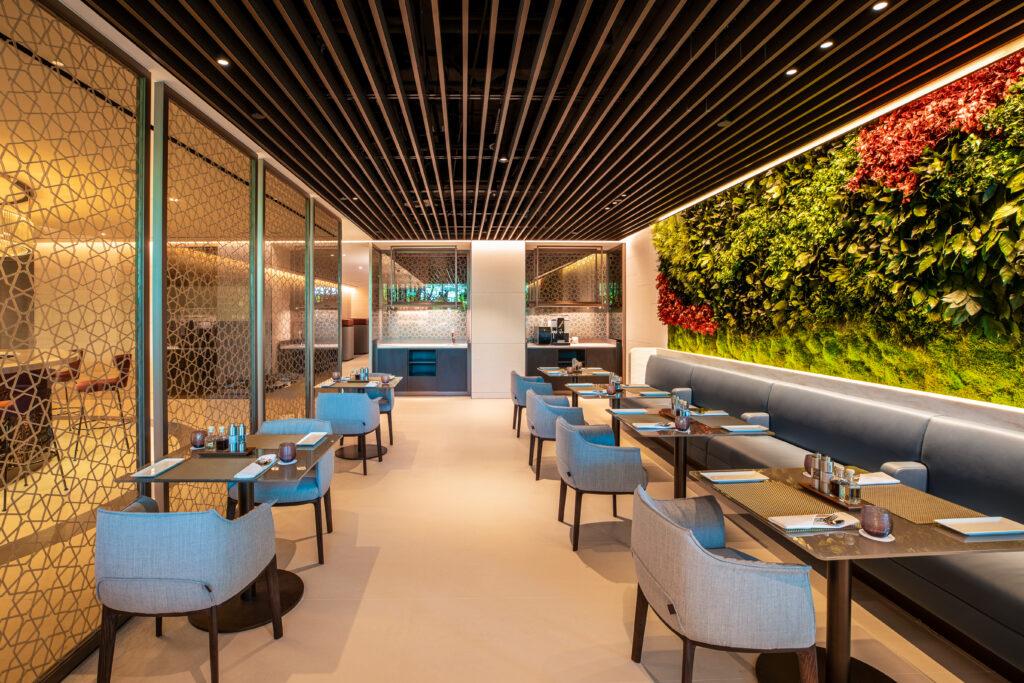 Qatar Airways Premium Lounge, Singapore Changi