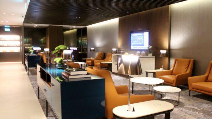 Qatar Airways Premium Lounge, Singapore